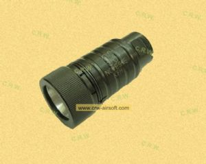 Firepig flash hider for AK by Dboys (Tan, black)